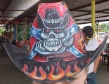 Custom Airbrushed Cowboy Hats